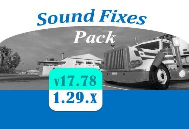 [ATS] Sound Fixes Pack v17.78
