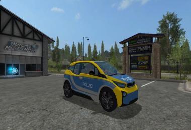 BMW I3 Autobahnplizei skin v1.0