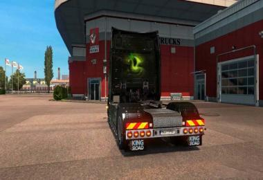 Bumper for Scania's new Generation R & S 1.30