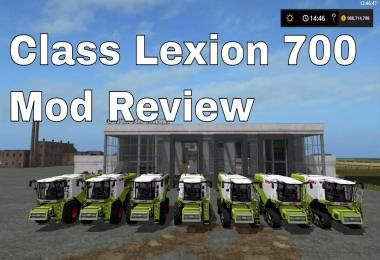 CLAAS LEXION 700 SERIES FULL PACK V1.01