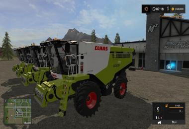 Claas Lexion 700 Series Full Pack v1.0