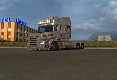 Dirty Diesel skin for Scania T by RJL