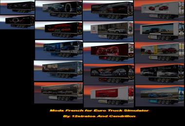 Ets2 Trailer Skin Pack pub cars v1.0