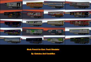 Ets2 Trailer Skin Pack various trailers v1.0