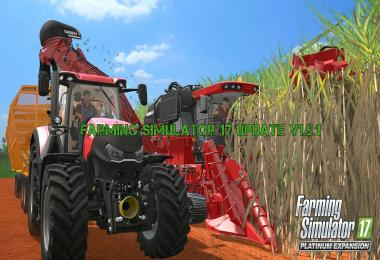 Farming Simulator 17 Update v1.5.1