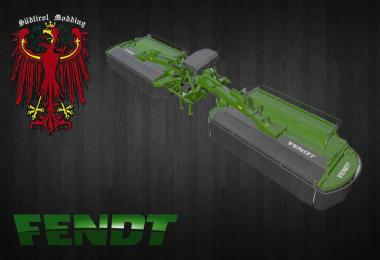 Fendt butterfly (mower skin for Pottinger X8) v1.0