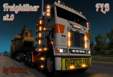 Freightliner FLB edited by Harven v2.0 (1.28, 1.29)