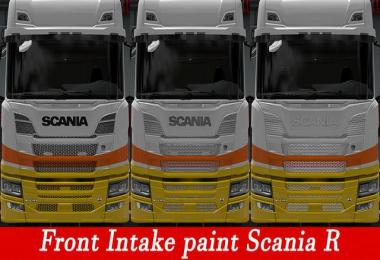 Front intake paint Scania Next Gen v3