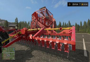 Grimme 18 Row Sugar Beet Harvester v1