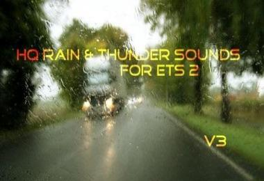 HQ Rain & Thunder Sounds V3 1.28.x