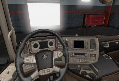Interior Scania New Generation Beige 1.30.x