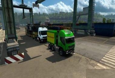 IVECO Heavy Haul Convoy Trailer Mod 1.30