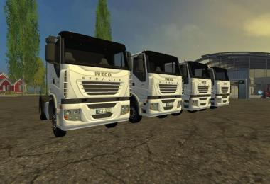 Iveco Stralis Trucks pack v1.0