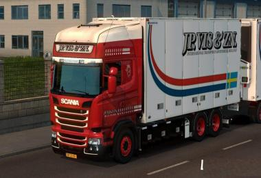 JP Vis Skin for the Bussbygg Chassis and Trailer v1.0
