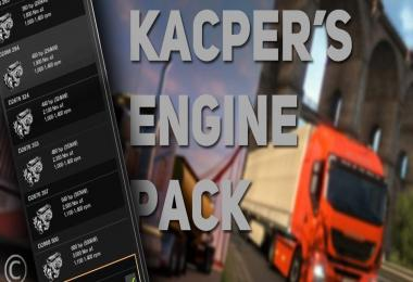 Kacper's Engine Pack – v2.48 – New Generation Scania Update 1.30.x