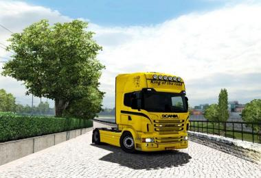 King of the road Skin for Scania RJL
