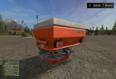 Kubota fertilizer spreader v1
