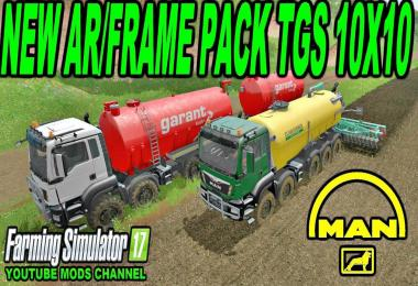 MAN TGS 6x / 8x / 10x -AR- as pack v2.2