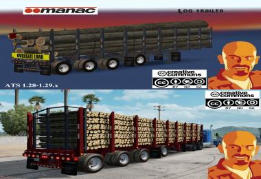 MANAC 4 AXIS LOG TRAILER ATS 1.28 - 1.29.x