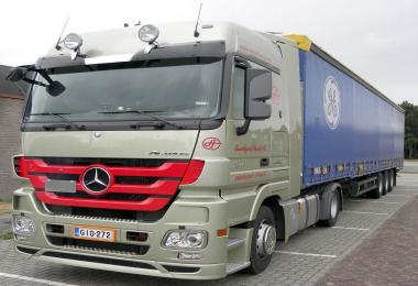 Mercedes Actros Mp3 Stock Sound v3