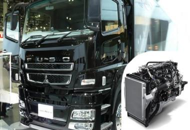 Mitsubishi Fuso Super Great Engine Sound 1.28