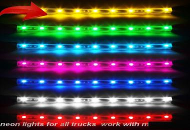 Neon Lights for all Trucks v1.0