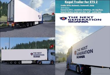 Next Generation Scania Trailer Kogel 1.30