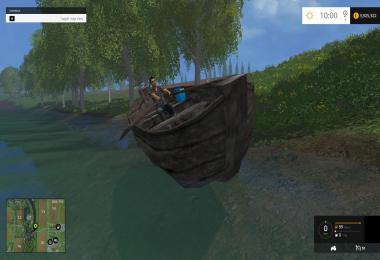 Old boat Fs15 v1.0
