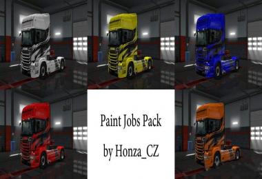 Paint Job Pack for Scania R & S v1.0