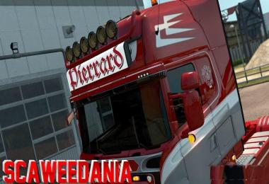 Pierrard Transport Lightbox for Scania RJL v1.0