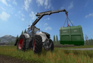 PONSSE Rear Mounted Crane + Lifting Hook Crane v1.4
