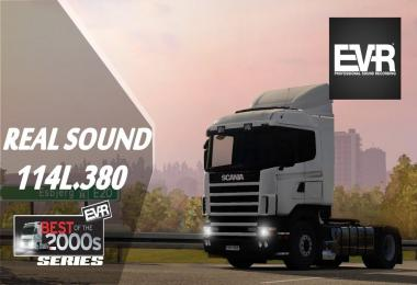 Real sound Scania 114L.380 Engine Voice Records