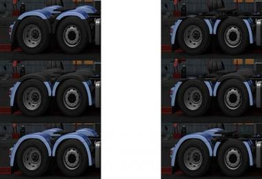 Rear fender Scania next Gen beta beta