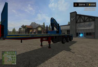 Royen Flatbed trailer v1.0.0