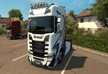 Scania New Gen Transport K.Lindholm & Co Skin