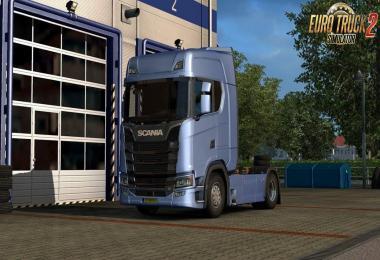 Scania New Generation V8 Stock Sound v1.0