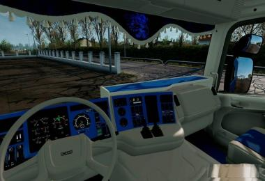Scania RJL CMI 4 Series Blue Interior v1.0