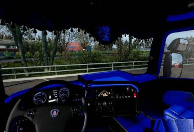 Scania RJL CMI Blue/Black Interior 1.28.x