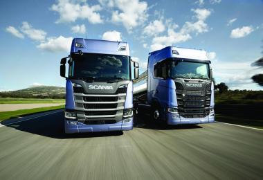 Scania R&S 2016 Sounds V8 v1.0