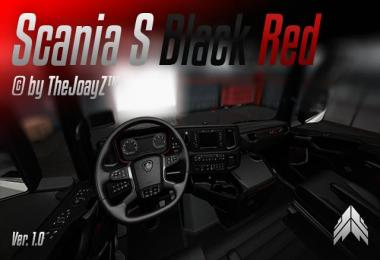 Scania S V8 Black Red Mod 1.30.x