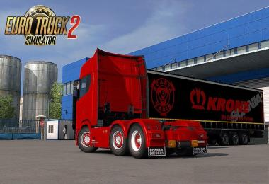 Scania S&R2016 (SCS) Rear Mudflap Pack v1.0