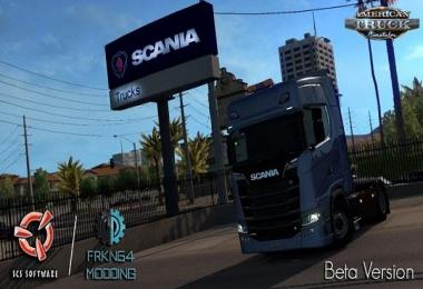 Scania Trucks for Ats v1.1
