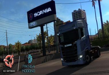 SCANIA Trucks for ATS v1.1 1.29