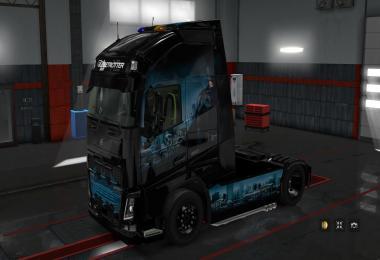 Skin Batman for Volvo FH 16 1.28.x