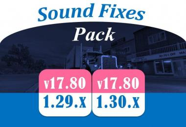 Sound Fixes Pack v17.80 for ATS [1.29]