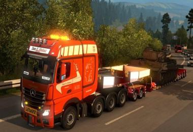 Tage E. Nielsen New Actros Paintjob pack