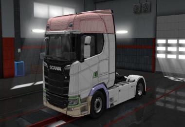 Templates for Scania R/S 2016 v1.0