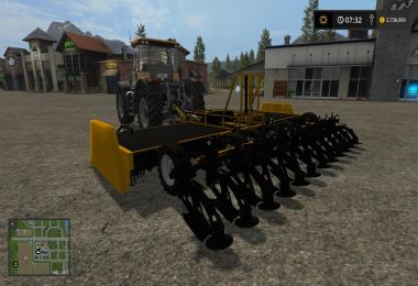 Towed Sugar Beet Topper v1.0