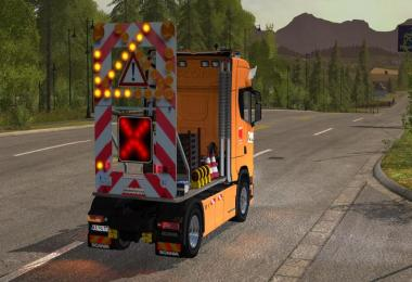 Traffic safety trailer (VSA) v2.0
