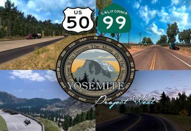 US 50 & CA 99 v1.9